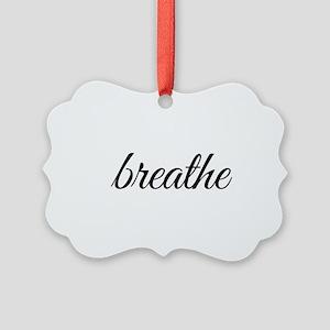 breathe Picture Ornament
