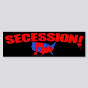 Secession! Sticker (Bumper)