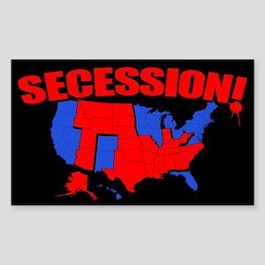 Secession! Sticker (Rectangle)