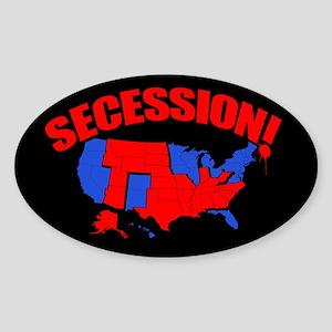 Secession! Sticker (Oval)