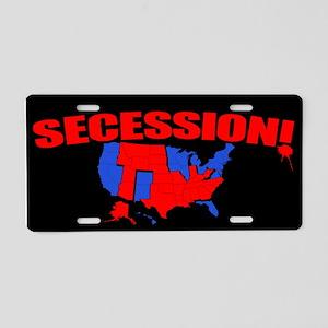 Secession! Aluminum License Plate