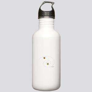"""""""Catch me if you can"""" Stainless Water Bottle 1.0L"""