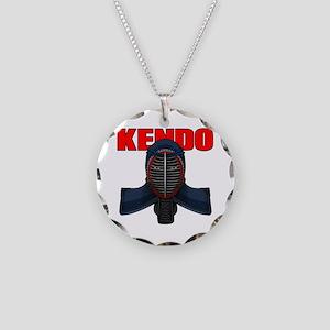 Kendo Men1 Necklace Circle Charm