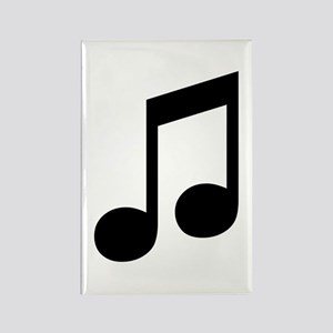 Double Eighth Note Rectangle Magnet