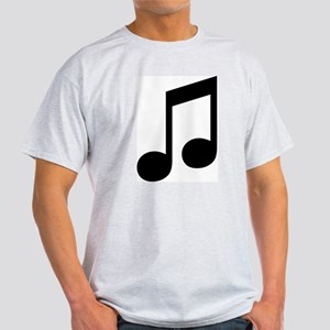 Double Eighth Note Ash Grey T-Shirt