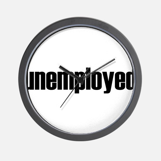 unemployed.png Wall Clock