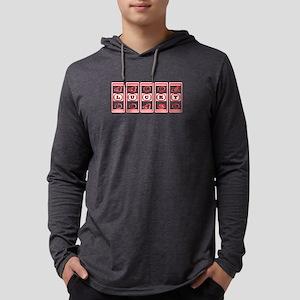 Lucky Mens Hooded Shirt