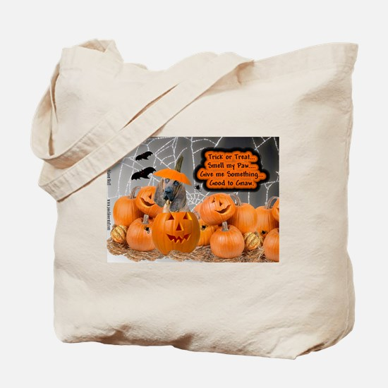BloodHound Halloween Tote Bag