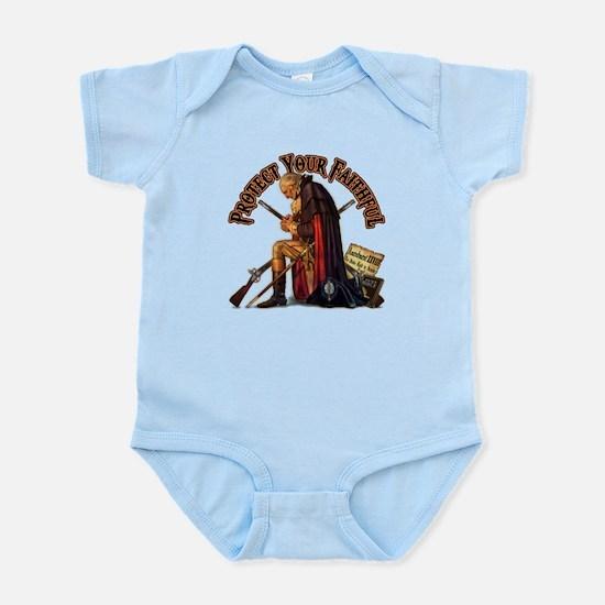 Protect Your Faithful Infant Bodysuit