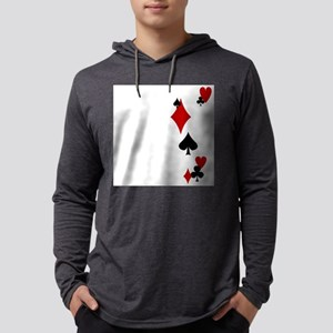 card suits Mens Hooded Shirt