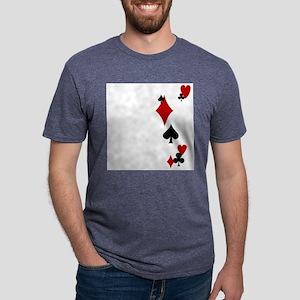 card suits Mens Tri-blend T-Shirt