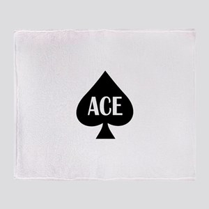 Ace1 Throw Blanket