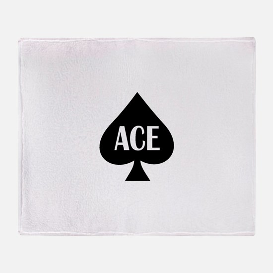 Ace1.png Throw Blanket