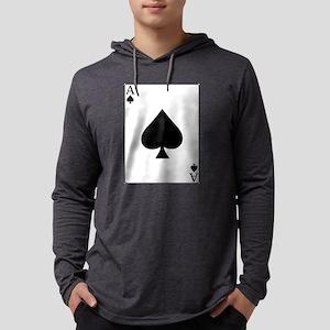 AceofspadesNew2 Mens Hooded Shirt