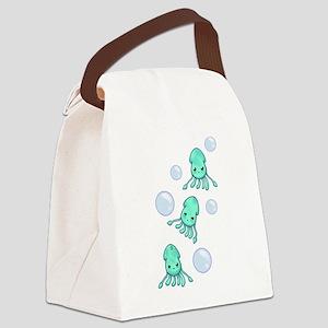 Squid Trio Canvas Lunch Bag