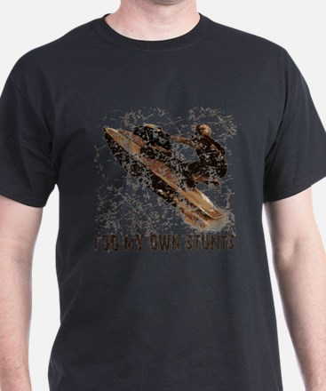 Jetski - Stunts Black T-Shirt
