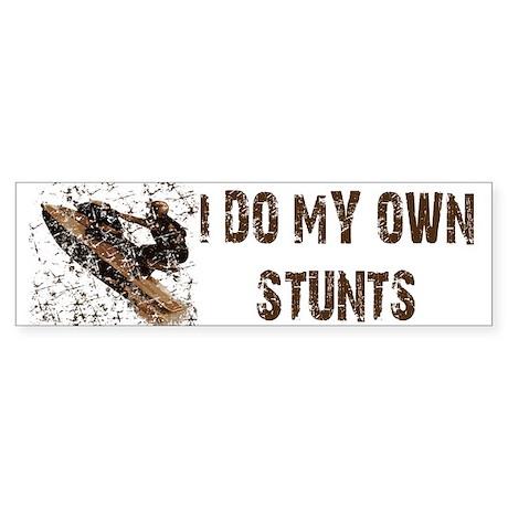 Jetski - Stunts Bumper Sticker