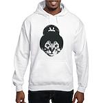 Geisha Cat Hooded Sweatshirt