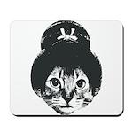 Geisha Cat Mousepad