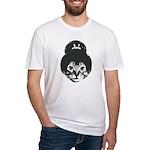 Geisha Cat Fitted T-Shirt