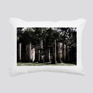 Old Sheldon Church 5 Rectangular Canvas Pillow