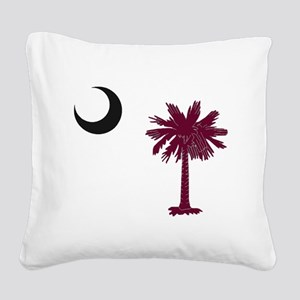 USC Square Canvas Pillow