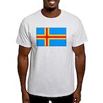 Aland Islands Ash Grey T-Shirt