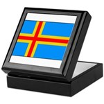 Aland Islands Keepsake Box