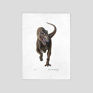T-Rex ~ Dinosaur ~ 5'x7'Area Rug