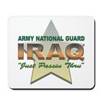 Army Guard Just Passin Thru Mousepad