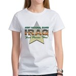 Army Guard Just Passin Thru Women's T-Shirt