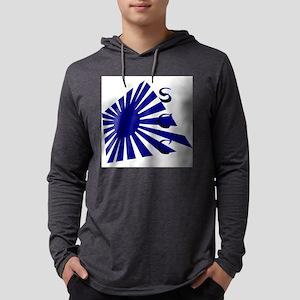 Rising Sun1 Blue SCC Mens Hooded Shirt