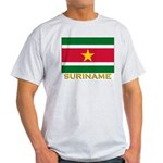 Flag of Suriname Ash Grey T-Shirt