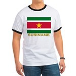 Flag of Suriname Ringer T