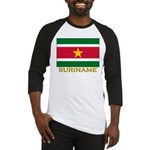 Flag of Suriname Baseball Jersey