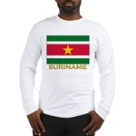 Flag of Suriname Long Sleeve T-Shirt