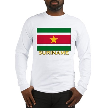 Flag of Suriname Long Sleeve T-Shirt