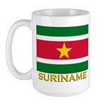 Flag of Suriname Large Mug