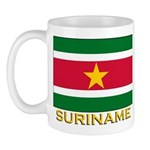 Flag of Suriname Mug
