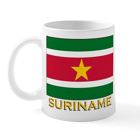 Flag of Suriname Mug