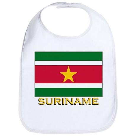 Flag of Suriname Bib