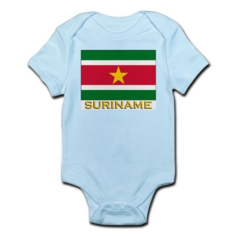 Flag of Suriname Infant Creeper