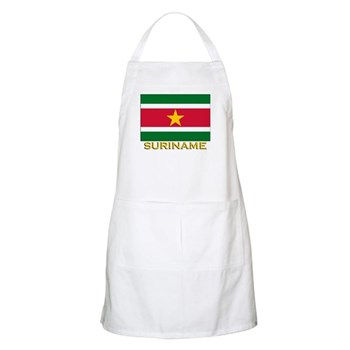 Flag of Suriname BBQ Apron