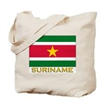 Flag of Suriname Tote Bag