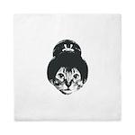 Geisha Cat Queen Duvet
