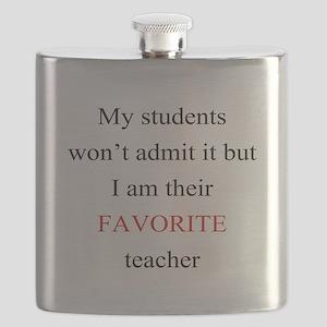 Favorite Teacher Flask