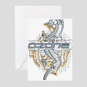Dragon Slash Fire Greeting Cards (Pk of 10)