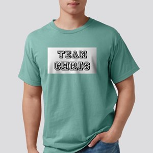 Team Chris blk Mens Comfort Colors Shirt