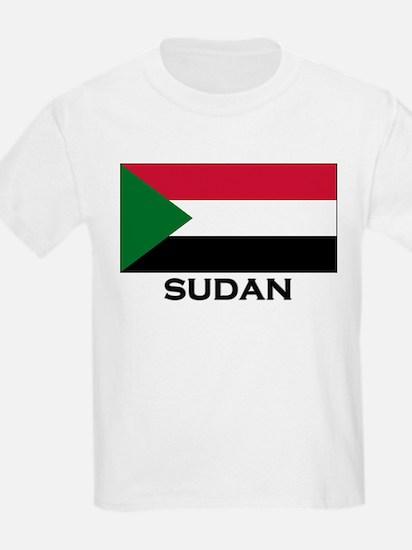 Sudan Flag Stuff Kids T-Shirt