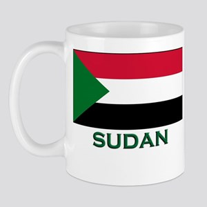 Sudan Flag Gear Mug